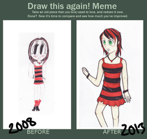 Draw This Again MEME - Nina by EmailinasBrother