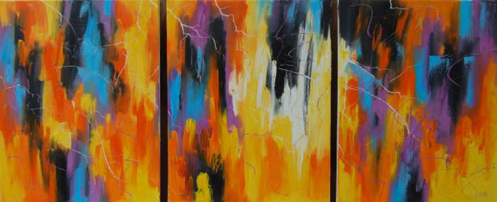 Autumn Abstract by artsaus