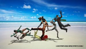 Mass Effect: A ruckus on the beach! by Lootra