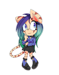 Kyuka The Cat (Commission) by castformgrass