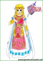 The Princess of Zelda by AmmarQaseem