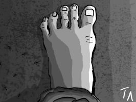 OAD-Day 10-Funky Toes by Flamer-Shaftglutton