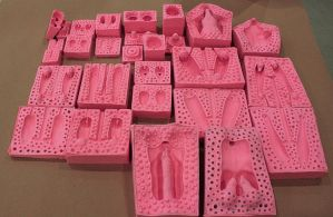 Doll Molds {WIP} by DonnKinney