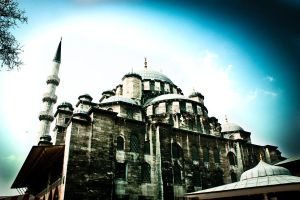 Turkey 2 - mosque by Yachman