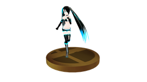 MMD Trophy 14: LAT BlackRockShooter by Jaimelynh