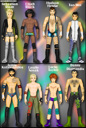 WWE OCs: My Superstars Pt. 1