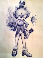 Blaze sketch by GabrielFrag