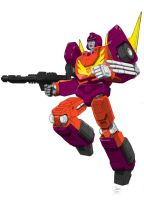 Rodimus Prime Colored by Johnny216