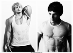 Wet Bradley and Colin by DEATHinMIND