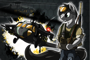 Ace Combat Equestria (A.C.E): Swift Tine by DJP15
