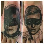 The Dynamic Duo, Batman and Robin - feet by lairdnick