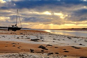 Marooned in Ravenglass by Capturing-the-Light