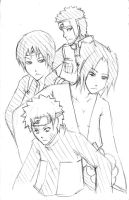 NARUTO - Shippuden boys by Drug-Holic
