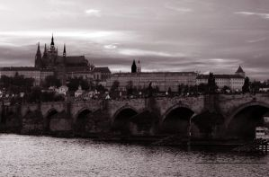Charles Bridge and The Castle02 by abelamario