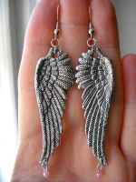 Angel's Tears earrings by Ravenhart