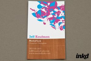 Media Group Business Card by inkddesign