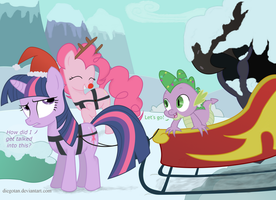 My Little Reindeers - Christmas My Little Pony FiM by DiegoTan