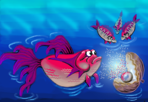 Jewel fishes by neveka