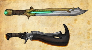 Kyrdan and Xandu swords by Great-5