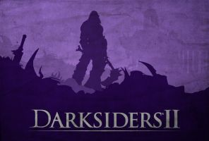 Death Approaches - Darksiders 2 Poster by disgorgeapocalypse
