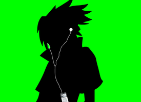 Sasuke iPod by Sasukito