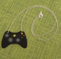 ELITE Black Xbox Controller Necklace by PlayBox-Designs