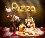 Soda and Pizza Pones by Tsitra360