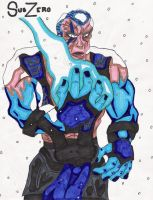 Cold Fist of SubZero by GoryAbomination