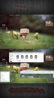 Danbo March. Windows 7 by oowlcityy