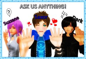 Ask Saxor, Suzzane and Dark! by sophloulou