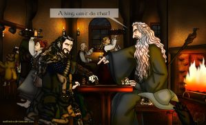 Commission: The Hobbit: Game of Kings by wolfanita