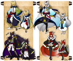 Cardinal Deity Fox God Adopts [CLOSED] by azume-adopts