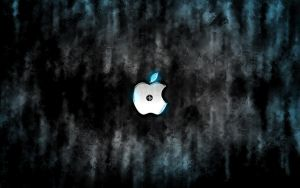 Futuristic Grunge Apple Wallpaper by KaiserBREE