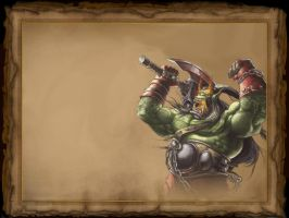 Warcraft III - Orc v1 by cptphatty