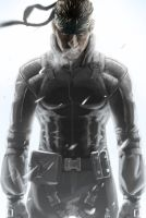 Solid Snake - Metal Gear Solid by AizakMoon