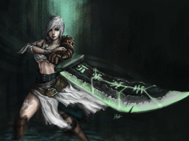 Riven the Exiled Knight by Penator