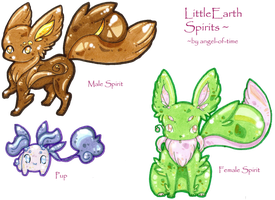 **#Earth Spirit Adoptable Batch CLOSED#** by angel-of-time
