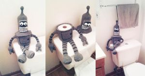 Bender guardian of the TP by AmaniWarrington
