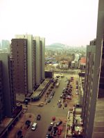 View from my window by Laura-in-china
