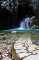 waterfalls of lefkada 2 by Anestis9985
