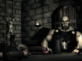 Dinner at Deathfist by DesignsByEve