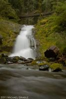 Upper Parker Falls by 11thDimensionPhoto
