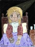 Edward Elric In the Fanfic of Sick By Sevlow by YellowFangWarrior