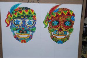 Day of the Dead. by LaurenTirroArt