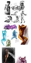 Life Drawing by Tyshea