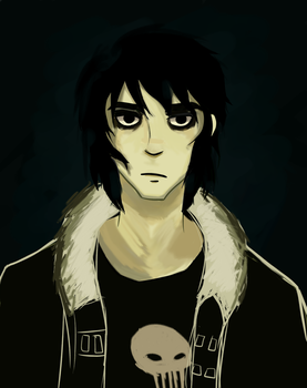 Nico Di Angelo by TheHiddenDeath