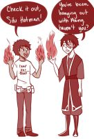 Firebender Bros by cookiekhaleesi