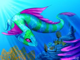 Sea Serpent by Stalcry