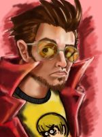 Spazkid Portait by Nerdbayne