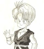 Kid Trunks traditional by ErrGerGer